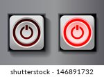 set white rounded square icon... | Shutterstock .eps vector #146891732