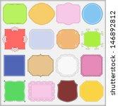 set of vintage labels | Shutterstock . vector #146892812