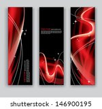 abstract banners. vector... | Shutterstock .eps vector #146900195