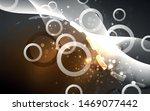 neon abstract background.... | Shutterstock .eps vector #1469077442