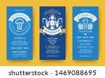 oktoberfest flyers or banners... | Shutterstock .eps vector #1469088695