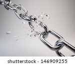 chain breaking | Shutterstock . vector #146909255
