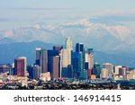Los Angeles With Snowy...