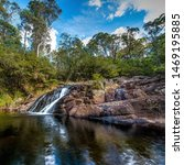 Allyn River Waterfall, Barrington Tops National Park, NSW, Australia