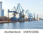 daytime at the docks | Shutterstock . vector #146921006