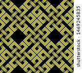 celtic square yellow figure... | Shutterstock .eps vector #1469245835