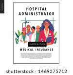 medical insurance template ... | Shutterstock .eps vector #1469275712
