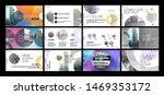 presentation template  ... | Shutterstock .eps vector #1469353172