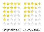 set of stars rating. customer...   Shutterstock .eps vector #1469395568