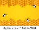 the geometric honeycomb... | Shutterstock .eps vector #1469566328