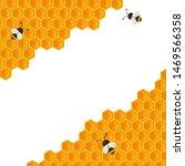 the geometric honeycomb... | Shutterstock .eps vector #1469566358