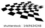 Curved Distorted Checkerboard...