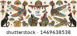 ancient egypt collection. old... | Shutterstock .eps vector #1469638538