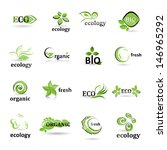 ecology icons set   isolated on ... | Shutterstock .eps vector #146965292