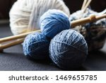 Woolen Yarn For Knitting. Close ...