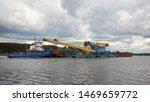 Volga River  Kimry  Tver Region ...