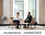 Businessmen Discussing Deal ...
