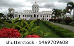 The Ujjayanta Palace of the Kingdom of Tripura situated in Agartala that was constructed between 1899 and 1901 by the King of Tripura, Maharaja Radha Kishore Manikya Debbarma under Martin and Burn Co.