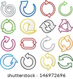 vector illustration of sticky... | Shutterstock .eps vector #146972696
