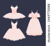 set of beautiful ballet dresses ... | Shutterstock .eps vector #1469770088
