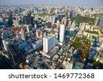 aerial view cityscape bangkok...   Shutterstock . vector #1469772368