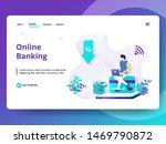 online banking vector...