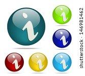 info sphere button   icon