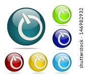 power sphere button   icon