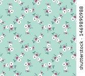 seamless vector ornamental... | Shutterstock .eps vector #1469890988
