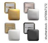 vector. mock up. set square... | Shutterstock .eps vector #1470067172