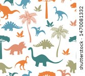 seamless pattern with colorful... | Shutterstock .eps vector #1470081332