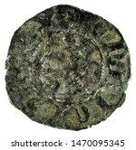 ancient medieval fleece coin of ... | Shutterstock . vector #1470095345