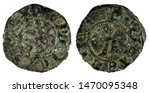 ancient medieval fleece coin of ... | Shutterstock . vector #1470095348