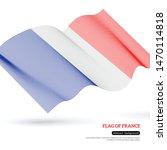 3d flag of france. national...