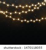 christmas lights isolated on...   Shutterstock .eps vector #1470118055