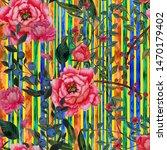 watercolor seamless pattern...   Shutterstock . vector #1470179402