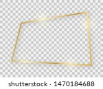 gold shiny rectangular frame... | Shutterstock . vector #1470184688