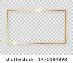 gold shiny 16x9 rectangular... | Shutterstock . vector #1470184898