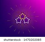 ranking stars line icon.... | Shutterstock .eps vector #1470202085