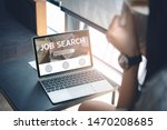 job search concept  find your... | Shutterstock . vector #1470208685