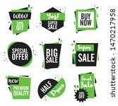 final sale tag collection  set... | Shutterstock .eps vector #1470217958