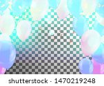 happy birthday greeting card... | Shutterstock .eps vector #1470219248