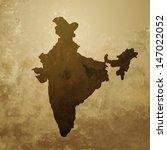 vector indian map design... | Shutterstock .eps vector #147022052