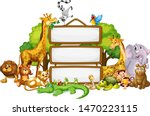 border template design with...   Shutterstock .eps vector #1470223115