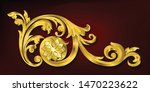 classical decorative elements... | Shutterstock .eps vector #1470223622