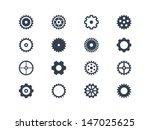 gears vector | Shutterstock .eps vector #147025625