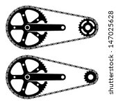 Vector Bicycle Chain Sprocket...