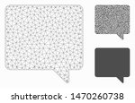 mesh message model with... | Shutterstock .eps vector #1470260738