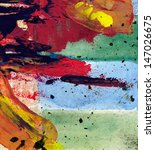abstract painting | Shutterstock . vector #147026675