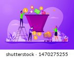 lead generation  targeted... | Shutterstock .eps vector #1470275255